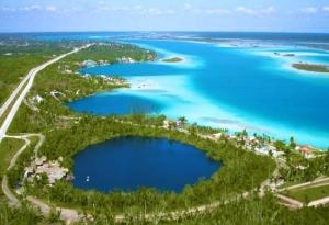 cenote azul bacalatr - cenotes